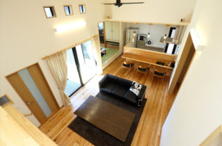 LDK - 三股町 - 万代ホーム 建築事例