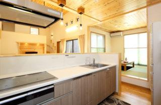 キッチン - 三股町 - 万代ホーム 建築事例